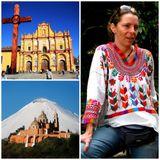 Gabriela Di Lauro sobre Cholula y San Cristóbal de las Casas