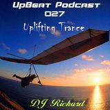 UpBeat 027 Uplifting Trance Mixed by DJ Richard