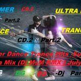 Super Dance Trance Hits -Summer Ultra Mix -Part.2(Dj MsM RMX ) CD.2-July 2017