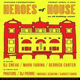 DJ Sneak b2b Derrick Carter b2b Mark Farina @ Heroes Of House, The Metro (Chicago) - 17-04-2015 #2