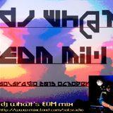 DJ wh@t EDM mix October 2013