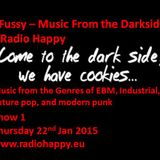 DJ Fussy - Radio Happy show 1 22.01.15