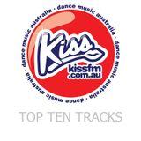 Top Ten Chart Kiss FM Dance Music Australia 25th August 2016