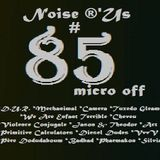 "Noise r'us # 85 micro off  ""new wave, synth ....& proto punk"" (novembre 2014)"