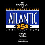 ATLANTIC 252 - OPENING DAY - 1-9-1989 - PART ONE