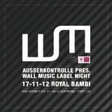 Ixel @ Ausserkontrolle pres. Wall Music Label Night / Royal Bambi Club / Dortmund / 17.11.12