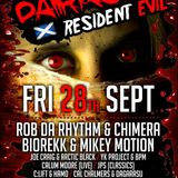 BPM & YK PROJECT @ Darkside Resident Evil 28-09-12