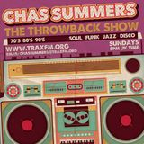 Trax FM (Sunday 05-04-2015) The Throwback Show with Chas Summers