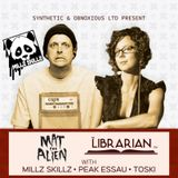 Live with Mat the Alien & The Librarian