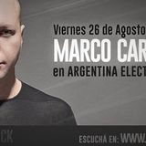 Marco Carola - Argentina Electrónica  (26-08-16) - Viernes 22hs x Futurock FM