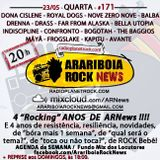 # 171 Arariboia Rock News - 23.05.2018 - Especial 4 Anos ARNews