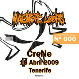 CroNe of Ufo Project - 18 Abril 2009 Tenerife CD, Mixed, Limited Edition