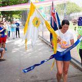 She runs 5000 kilometres in a single race - the ultra ultra marathoner.