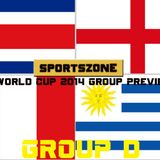 Sportszone's World Cup 2014 Preview: Group D