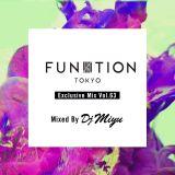 FUNKTION TOKYO Exclusive Mix Vol.63 Mixed By DJ MIYU