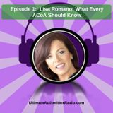Lisa Romano - What ACoAs Should Know