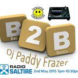 Paddy Frazer - Bac2Basics 2nd May 2015