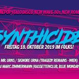 Signore URNa @ Synthicide, 2019-10-18, Folks Club, MUNICH, PingPong Snippets