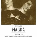 Magda Live @ Sonderklasse,Hive Club (Switzerland) (19.11.2011)