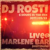 DJ Rosti - Live @Marlene Bar - 2017-09-23