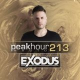 Peakhour Radio #213- Exodus (Sept 13th 2019)