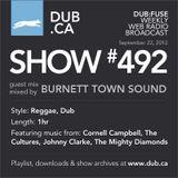 DUB:fuse Show #492 (September 22, 2012)
