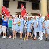 Cantarelli: lavoratori in piazza. Le richieste dei sindacati