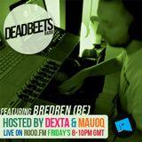 DeadBeets Radio 019 - 16/08/13 - Special Guest BREDREN (Belgium)