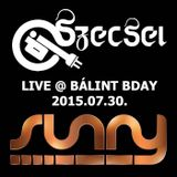 2015.07.30. - Bálint BDay - SUNNY - Thursday