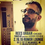 Rees Urban - Live at Rumor, Milwaukee [Feb.19.2015]