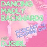 Dancing Madly Backwards podcast #6 - November 2014