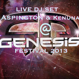 Aspington and Kenuna live dj set Genesis festival 2013