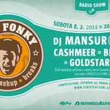 Get Fonky Radio Show pt.13 with Djs Mansur & Casmeer