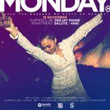 Deejay Manie LiveSet no.13 @ Monday 19-11-18  (Warmup Session)