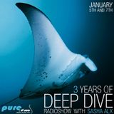 Sasha Alx - The 3rd Anniversary Of Deepdive (Day 1 Part 1) [05-Jan-2014] on Pure.FM