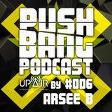 Pushbang @ UP AIR - Arsee B Live Set (2. 11. 2014)