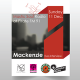 Interview Mackenzie For Mastic Soul @ Pirate Radio 91.0 Fm