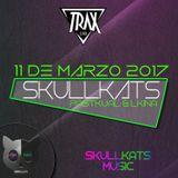 Pastkual vs LKina@SkullKats Party at Trax Club Vigo 11.03.17