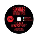 FLEX'N'LIVE-O B DAY BASH MIX 19TH DEC @ ENVY LUTON