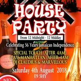 LIVE RECORDING OF HOUSE PARTY 12 TO 12 (SAT 06TH AUG 2018) CD1