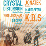 Crystal Distortion vs K.D.S - Krystal DiStortion (recorded live)