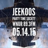 05.14.15 Jeekoos on PTS Radio WNUR Chicago