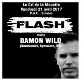 """Damon Wild at """"Flash"""" @ Cri de la Mouette (Toulouse - France) - 21 April 2017"""