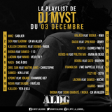 ALDGSHOW de DJ MYST aka La LEGENDE sur Generations FM emission du 3 decembre 2017 PART III