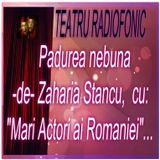"""Teatru Radiofonic - Padurea nebuna -de- Zaharia Stancu  cu, """"mari actori""""..."""