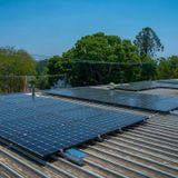 Solar gardens allow renters and shaded households to access renewable energy