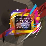 Van Graph KFÉ 5 Year Anniversary