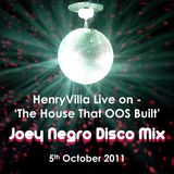 HenryVilla - Joey Negro Disco House Mix, Onlyoldskool Radio 05.10.2011