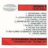 Session 5 - The Big Songs After 9/11-DJ October 2001-DJ Don Bishop