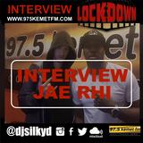 @JAERHIOFFICIAL (JAE RHI)  INTERVIEW WITH DJ SILKY D   THE LOCKDOWN SHOW   97 5 KEMET FM